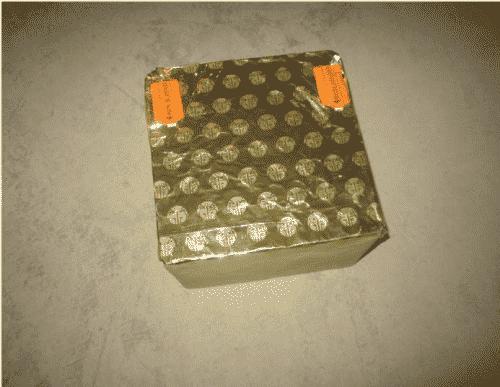 Compact 100 tirs tonitruant de la gamme Pyrobox